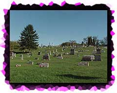A view of the Elizabeth Cemetery